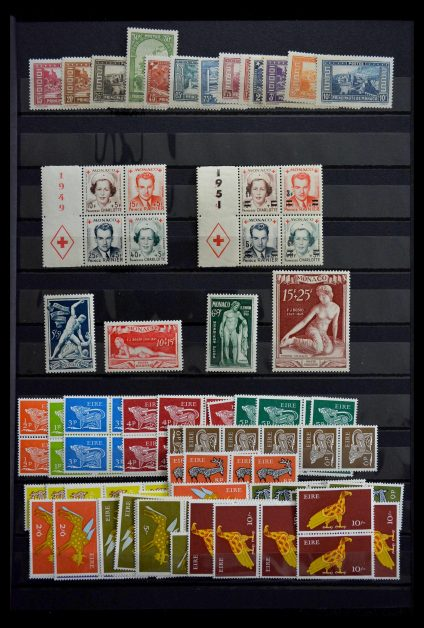 Stamp collection 28723 Western Europe better issues 1855-1960.
