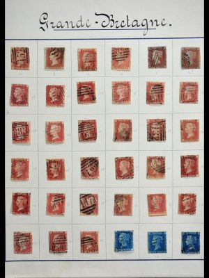 Stamp collection 28724 Great Britain 1858-1972.
