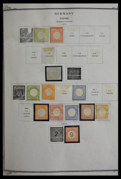 Stamp collection 28726 Germany 1872-1945.