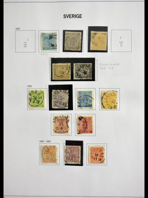 Stamp collection 28760 Sweden 1855-2012.