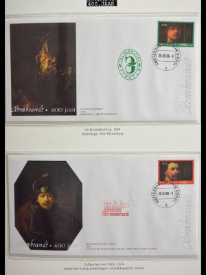 Stamp collection 28773 Paintings.