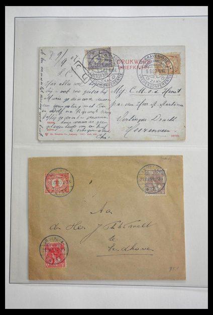Stamp collection 28783 Netherlands commemorative cancels 1906-1934.