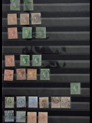 Stamp collection 28802 Antigua 1862-1966.