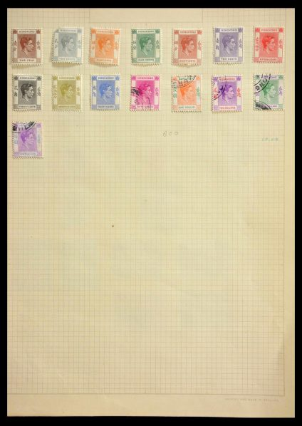 Stamp collection 28807 British Commonwealth.