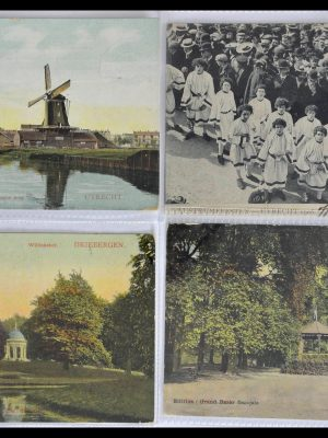 Stamp collection 28809 Picture postcards Utrecht.
