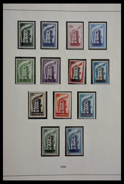 Stamp collection 28811 United Europe 1956-1996.
