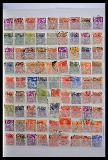 Stamp collection 28825 Netherlands perfins.
