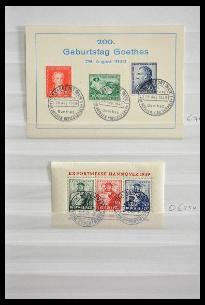 Stamp collection 28838 Germany 1948-1949.