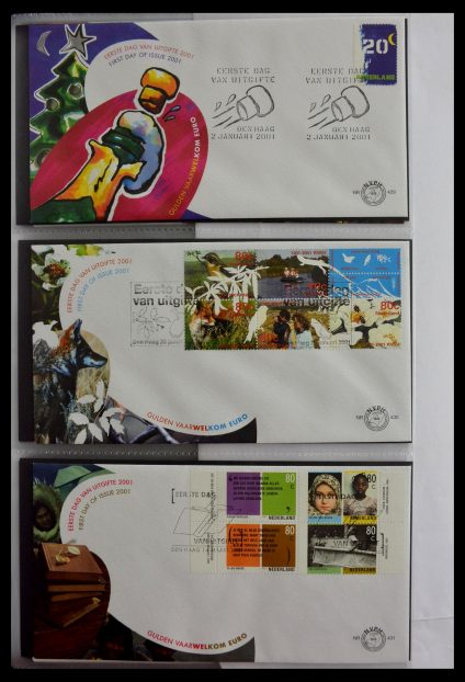 Stamp collection 28897 Netherlands 2001-2013 FDC's.