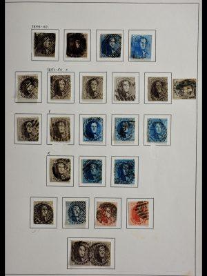 Stamp collection 28920 Belgium classic.