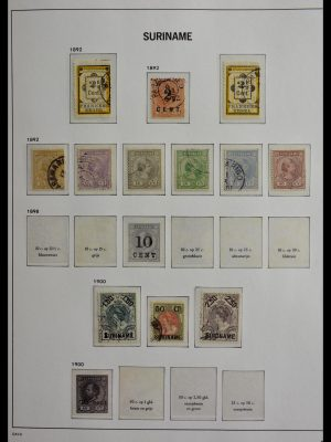 Stamp collection 28931 Surinam 1890-1975.