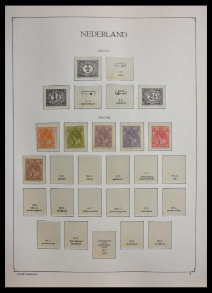 Stamp collection 28933 Netherlands 1899-1969.