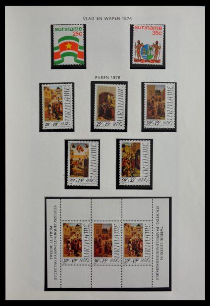 Stamp collection 28941 Republic of Surinam 1975-1996.