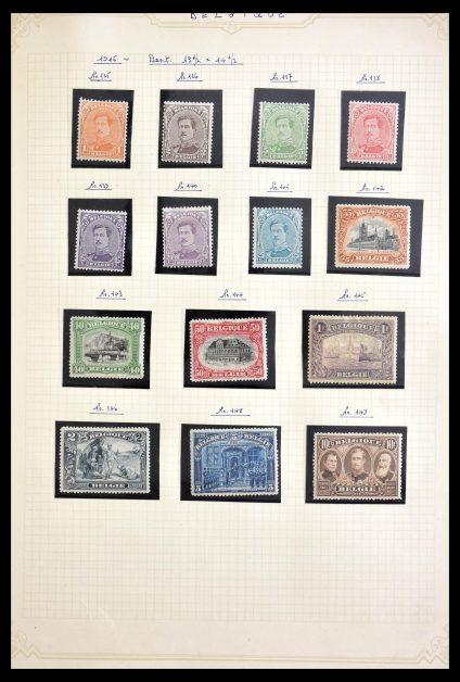 Stamp collection 28978 Belgium ca. 1915-1960.