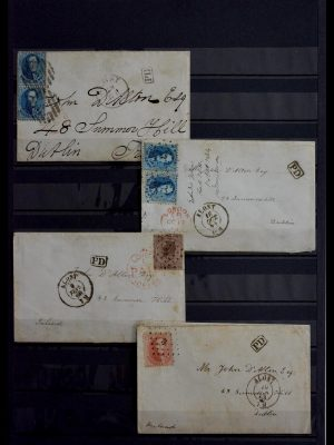 Stamp collection 28979 Covers Belgium.