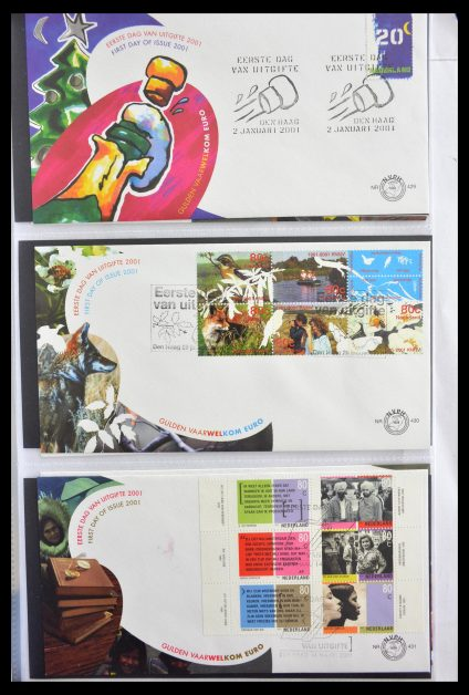 Stamp collection 28999 Netherlands FDC's 2001-2012.