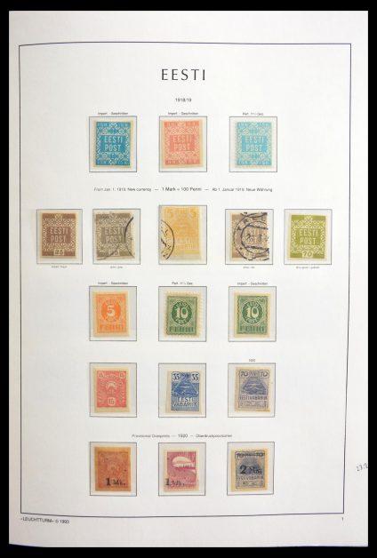 Stamp collection 29012 Estonia 1918-2010.