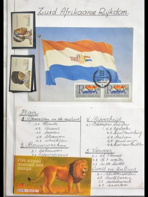 Stamp collection 29055 South Africa and homelands 1985-1995.