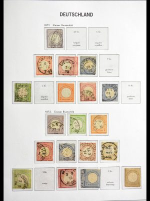 Stamp collection 29057 Germany 1872-1949.