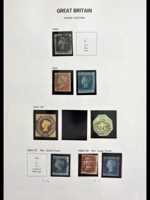 Stamp collection 29064 Great Britain 1840-1991.