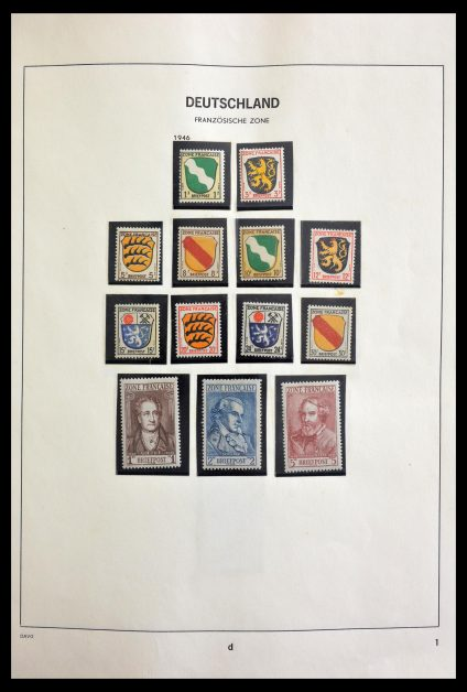 Stamp collection 29092 Germany 1946-1984.