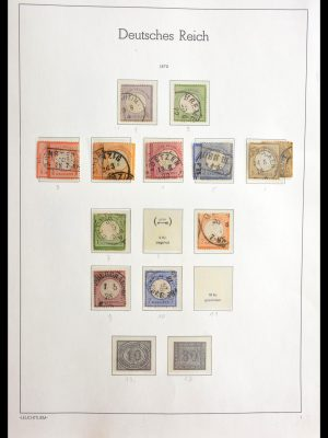 Stamp collection 29098 Germany 1872-1945.