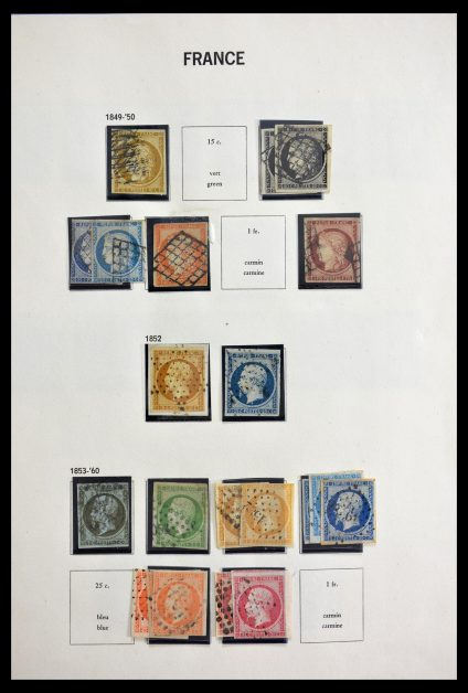 Stamp collection 29105 France 1849-1982.