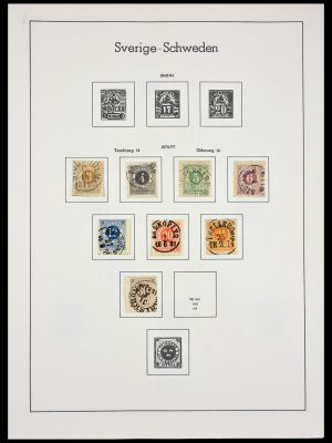 Stamp collection 29125 Sweden 1872-1999.