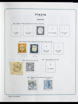 Stamp collection 29130 Italy 1862-1944.