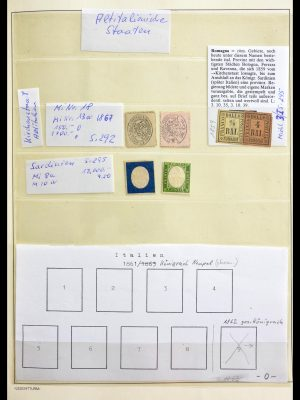 Stamp collection 29131 Italy 1861-1994.