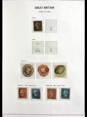Stamp collection 29134 Great Britain 1840-1985.