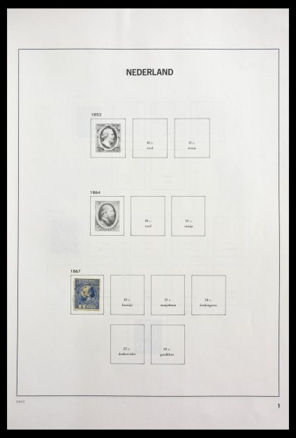 Stamp collection 29137 Netherlands 1867-1984.