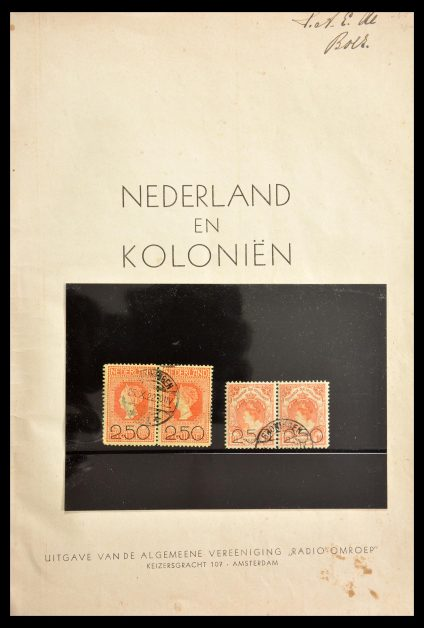Stamp collection 29143 Netherlands 1852-1941.