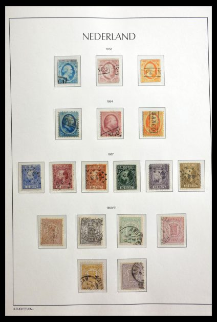 Stamp collection 29144 Netherlands 1852-2007.