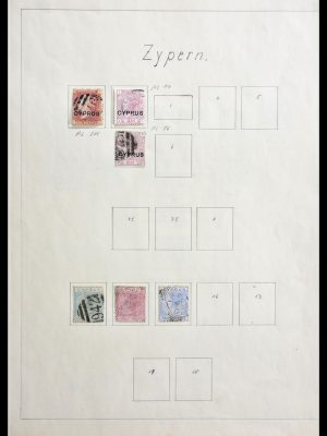 Stamp collection 29146 Cyprus 1880-1980.