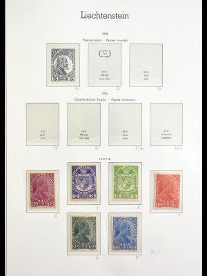 Stamp collection 29159 Liechtenstein 1917-2009.