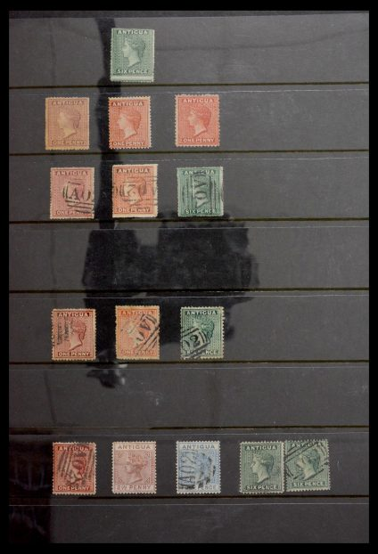 Stamp collection 29162 Antigua 1862-1989.