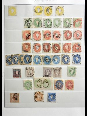 Stamp collection 29163 Austria and territories 1850-1914.