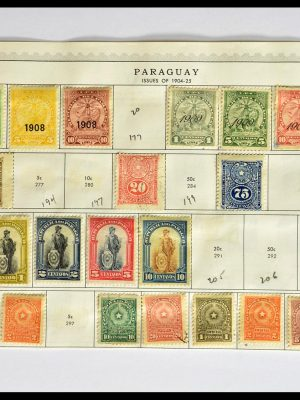 Stamp collection 29173 Paraguay 1870-1968.