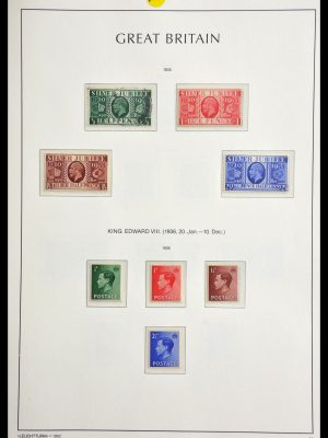 Stamp collection 29186 Great Britain 1924-1936.