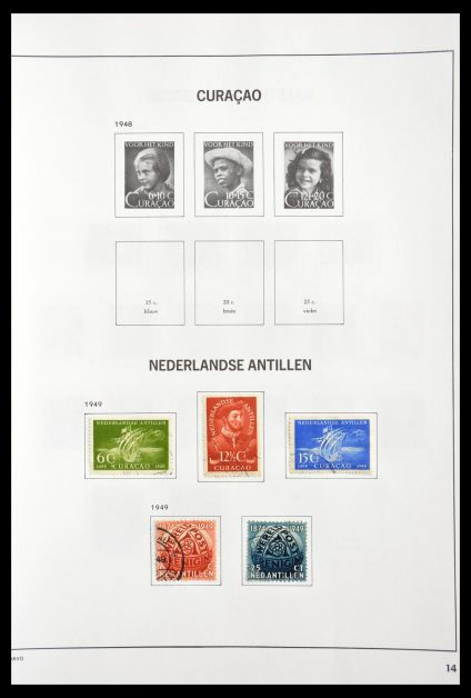 Stamp collection 29189 Netherlands Antilles 1949-1999.