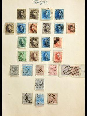Stamp collection 29192 Belgium 1849-1941.
