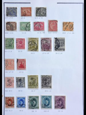 Stamp collection 29224 Egypt 1870-2002.