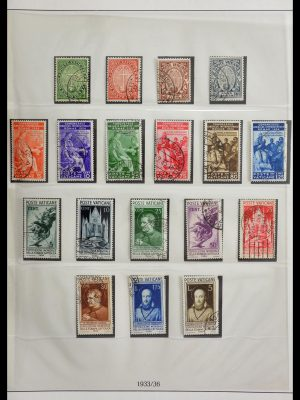 Stamp collection 29252 Vatican 1929-1988.