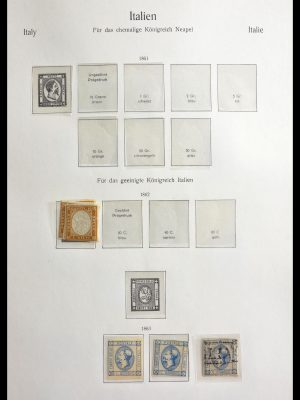 Stamp collection 29258 Italy 1862-1988.