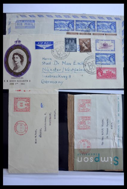 Stamp collection 29266 New Zealand 1864-1990.