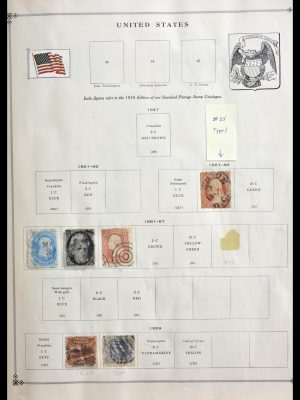 Stamp collection 29287 World 1850-1950.