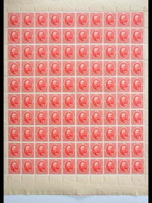 Stamp collection 29306 Luxembourg 1891-1893.