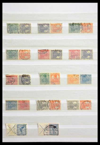 Stamp collection 29315 German Reich combinations cancelled.