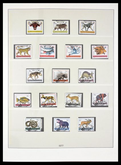 Stamp collection 29355 South Africa homelands 1979-1991.